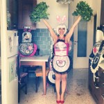Cheerleading in cucina – High V