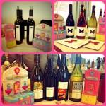 La mia cucina giocattolo con i vini delle cantine: Vinanda (Campania), Ausonia (Abruzzo), Agricola Le Rose (Lazio)